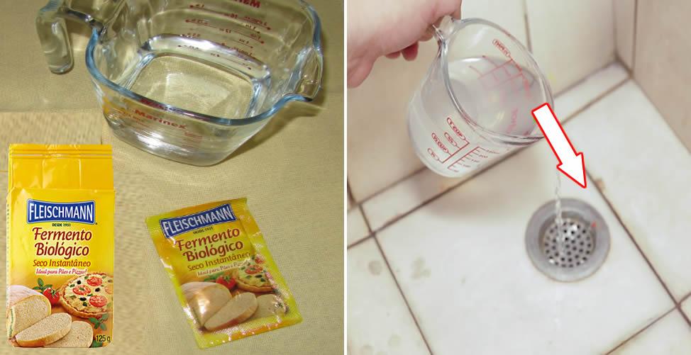 So entfernen Sie einen schlechten Geruch aus dem Abfluss
