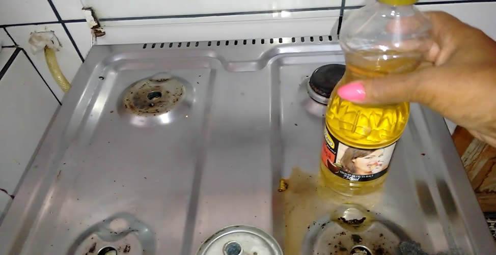 So reinigen Sie die Küche