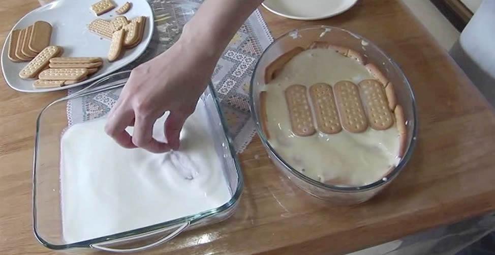 wie man Kekskuchen macht