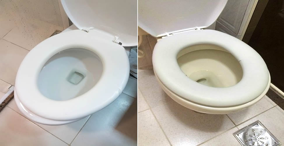 So desinfizieren Sie die Toilette